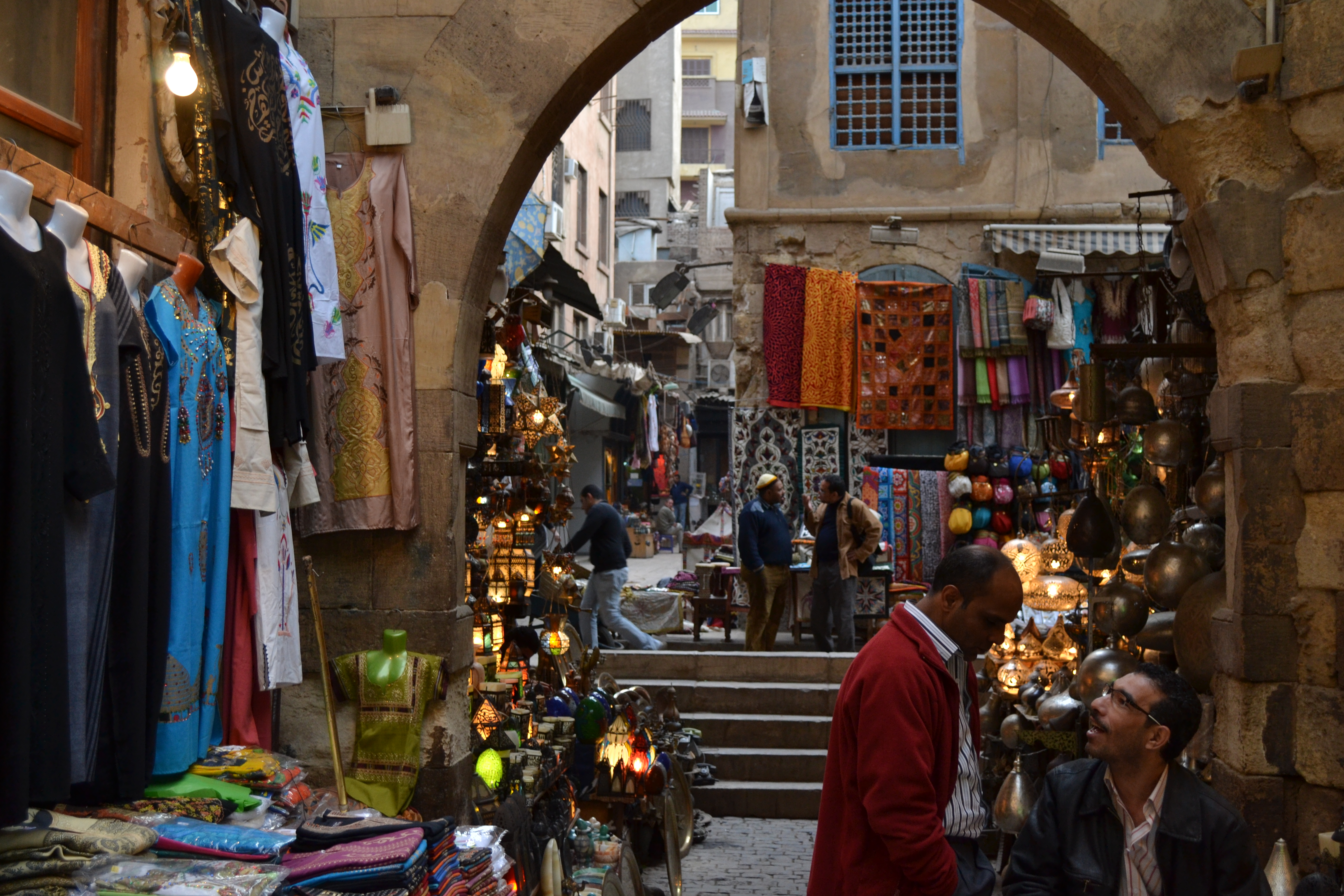 Khan El-Khalili: A maze of alleyways