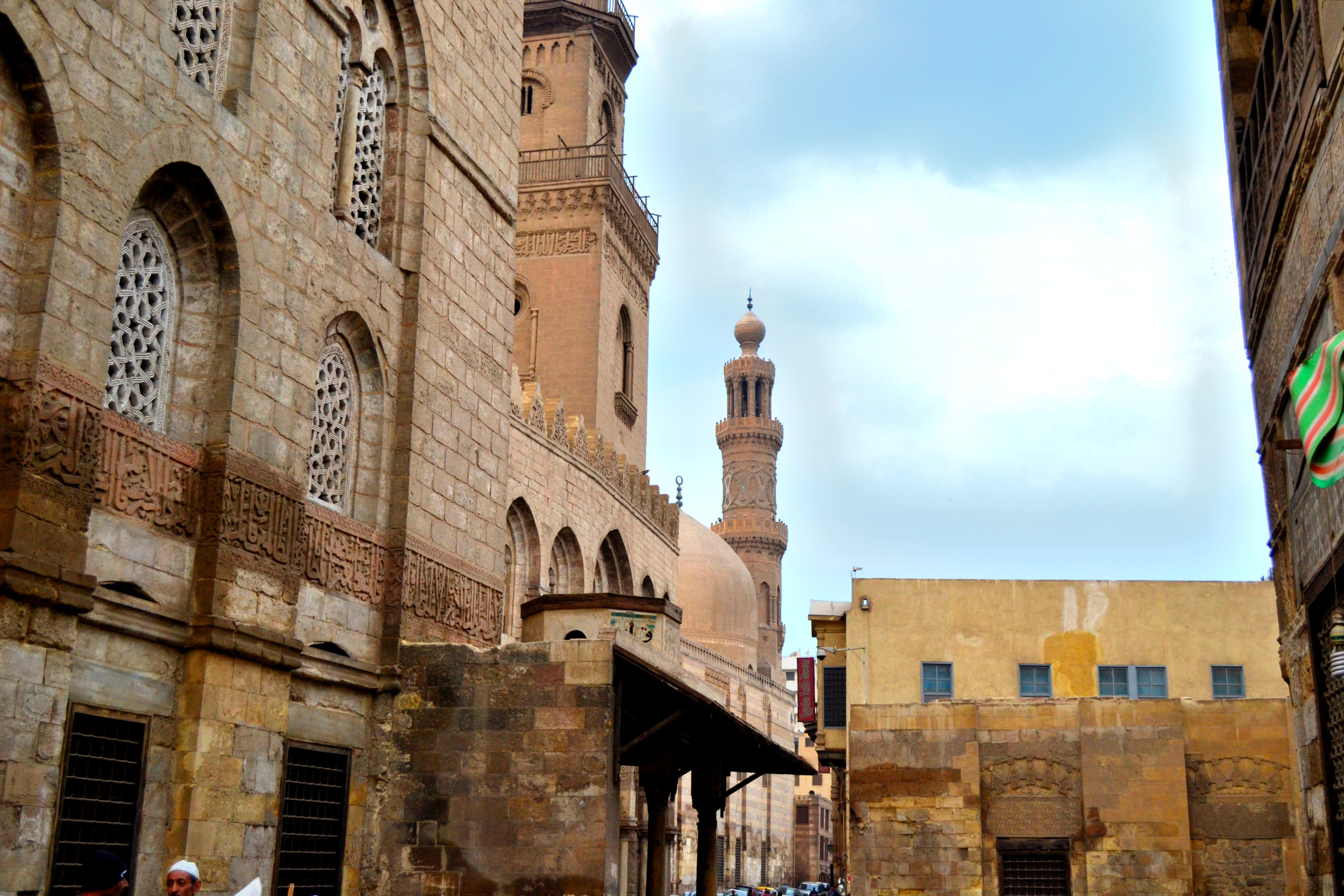The Islamic architecture coupled with the bustling markets sends you back in time.