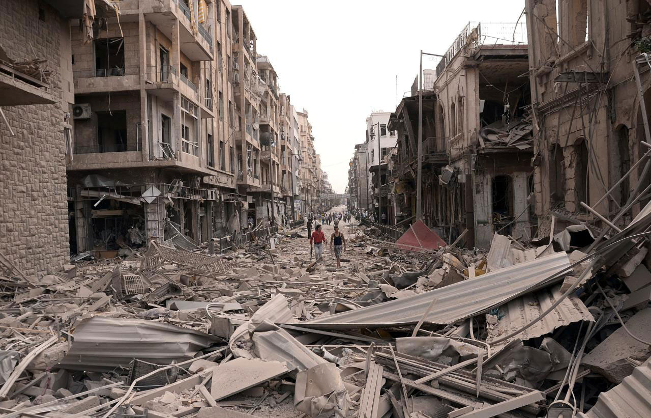 Syria's 'Civil War' has left cities, towns, and villages destroyed