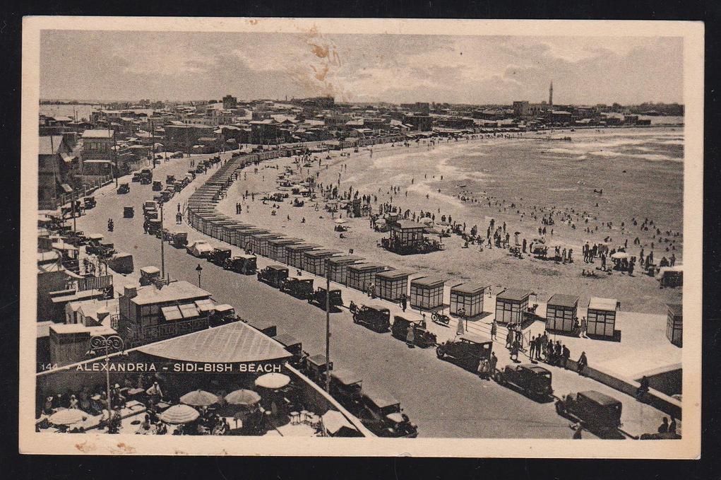 Alexandria's Korniche in 1935