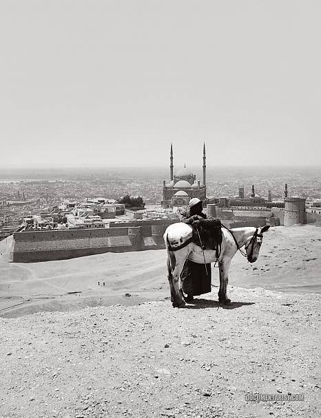 The view from Mokattam (Cairo) in 1920