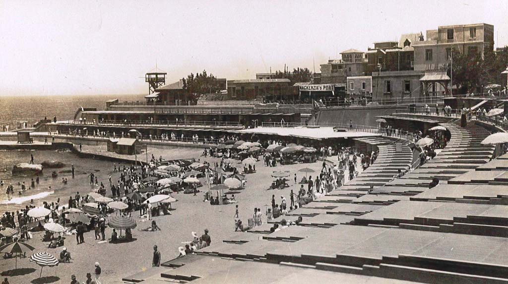 Alexandria's Stanley Beach in the 1950s