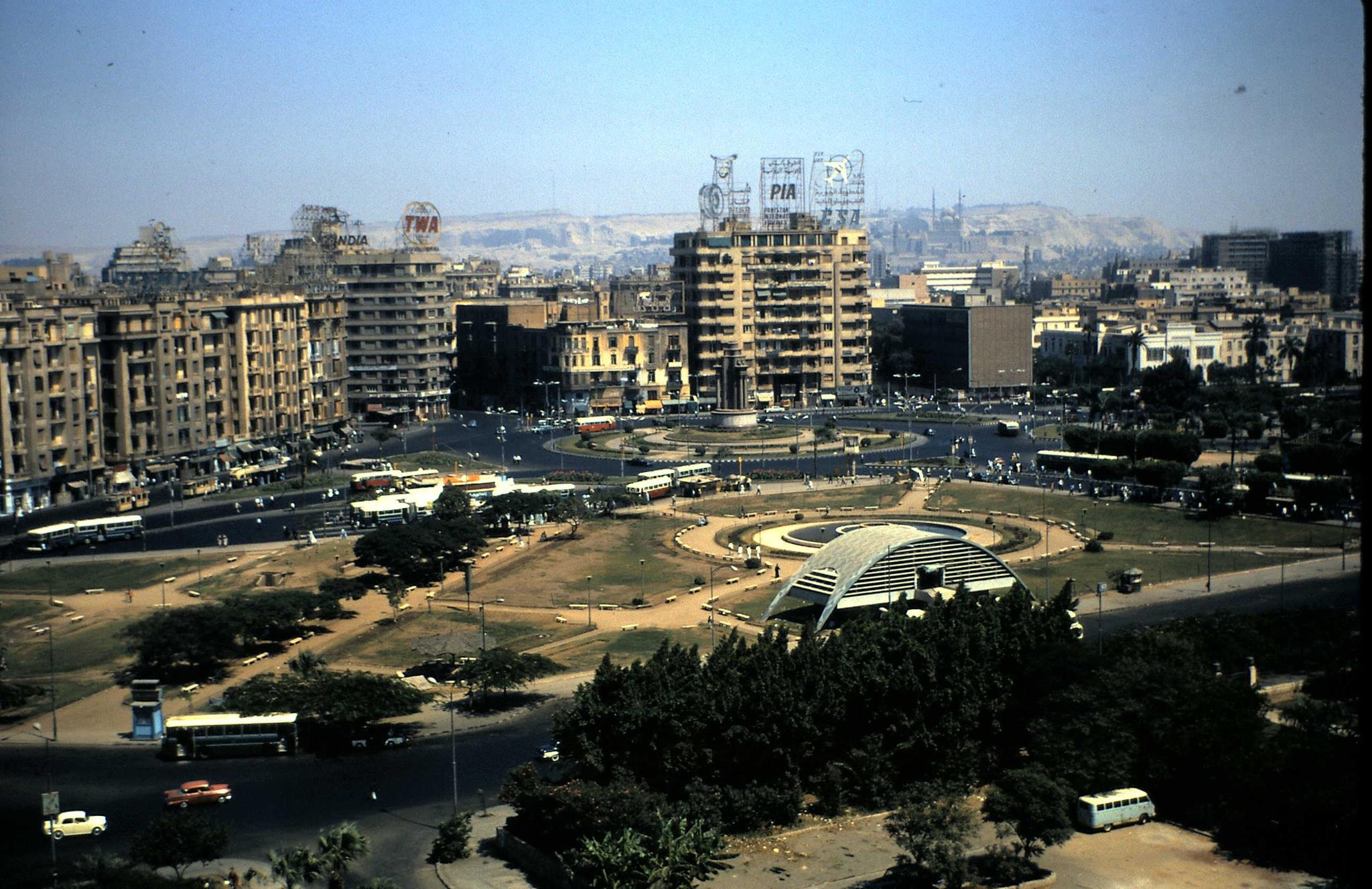 Tahrir Square, 1975