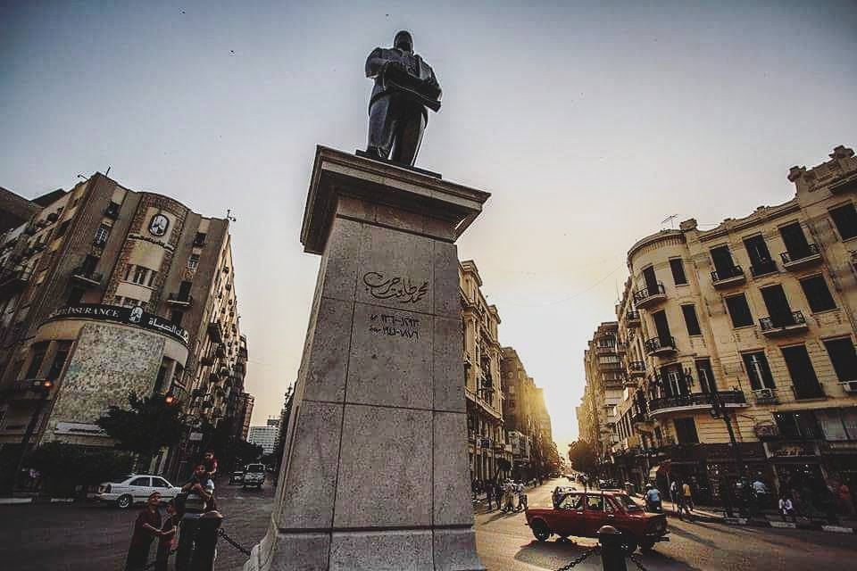 Talaat Harb Square in Downtown Cairo. Credit: Enas El Masry