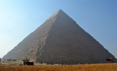 The Great Pyramid of Giza (Pyramid of Khufu)