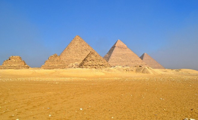 the great pyramid essays