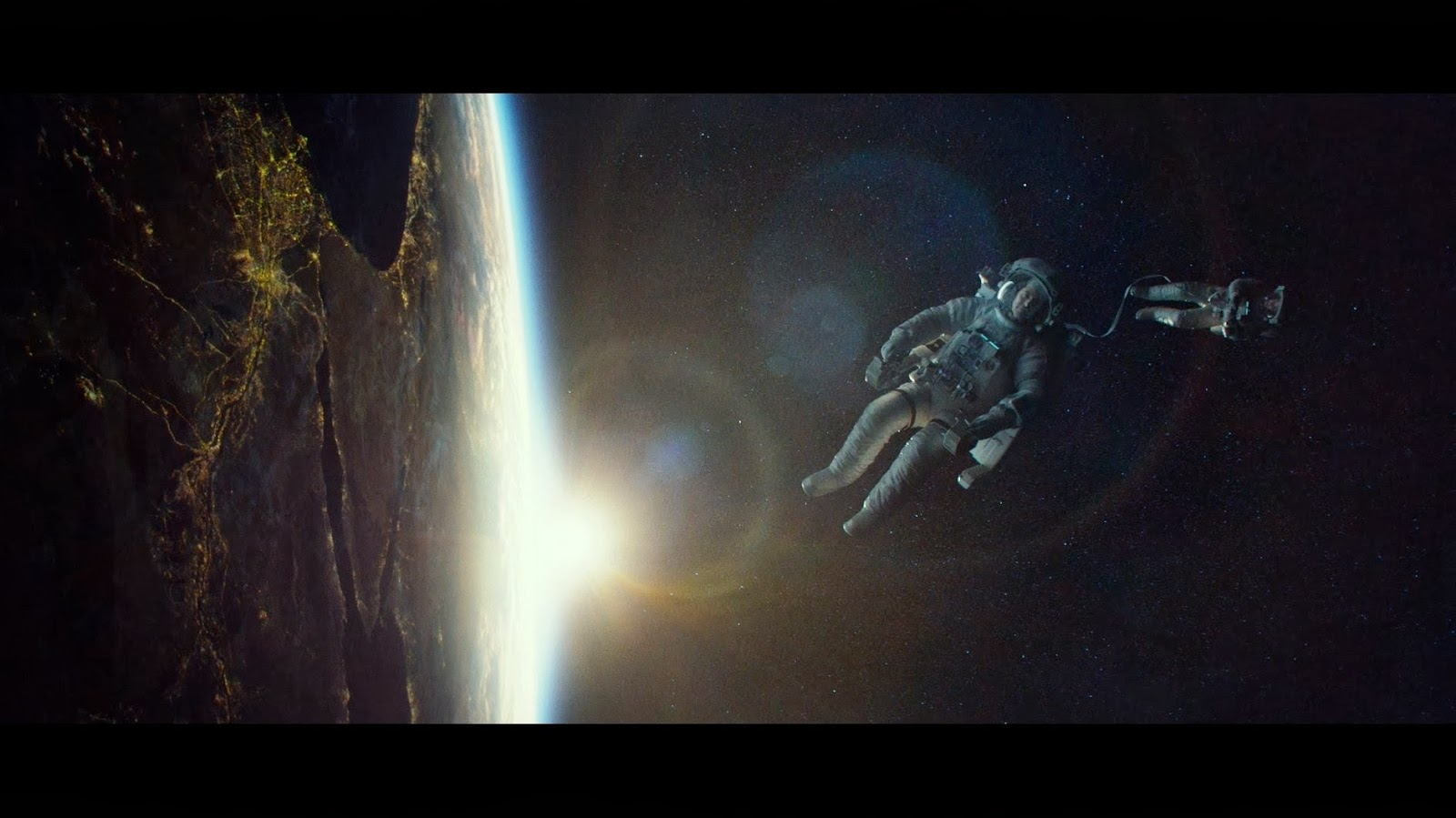 A shot of Egypt from space in the wildly successful 'Gravity' movie. It's unlikely Egypt will actually be doing this in the short term.