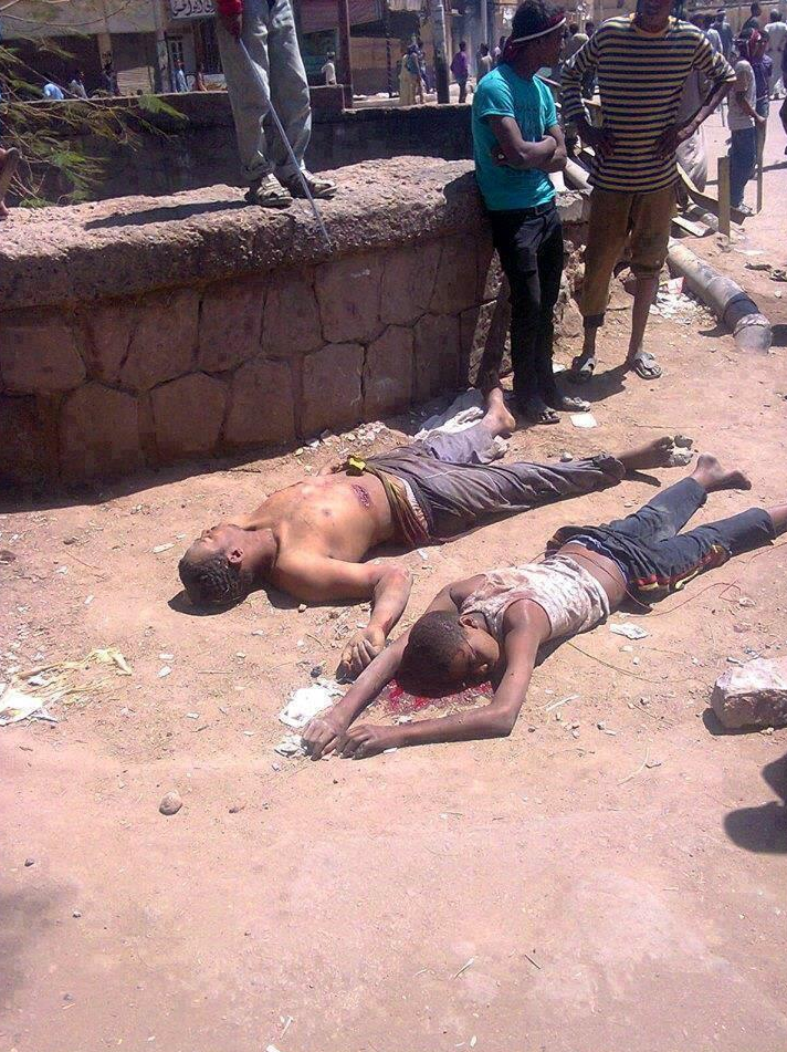 A young boy was among those killed in renewed clashes today