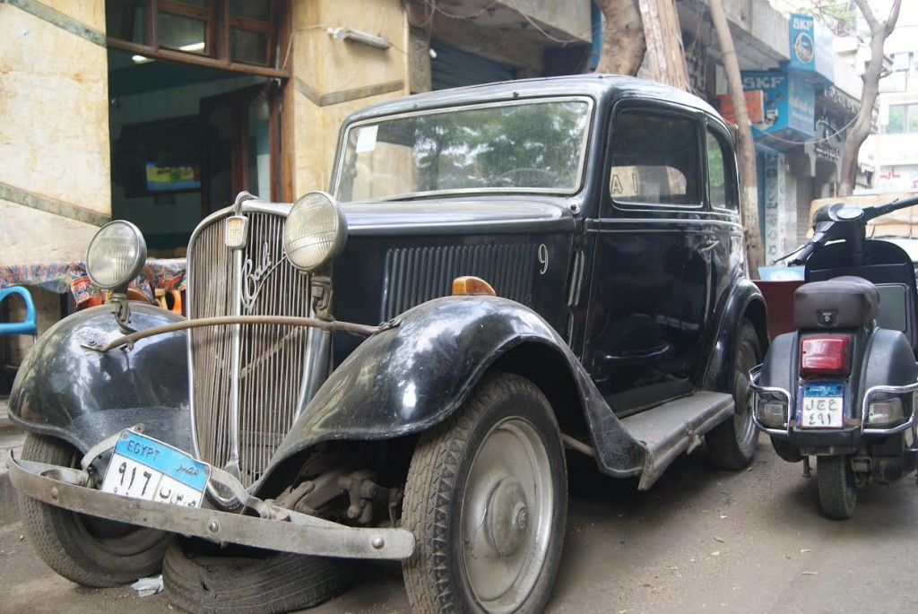 A Bali resting in Maarouf Street