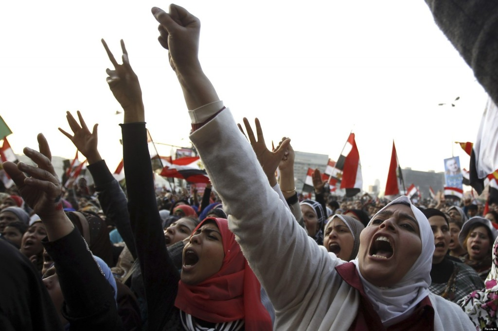 Despite playing an important role in Egypt's revolution, dozens of women were sexually assaulted during protests