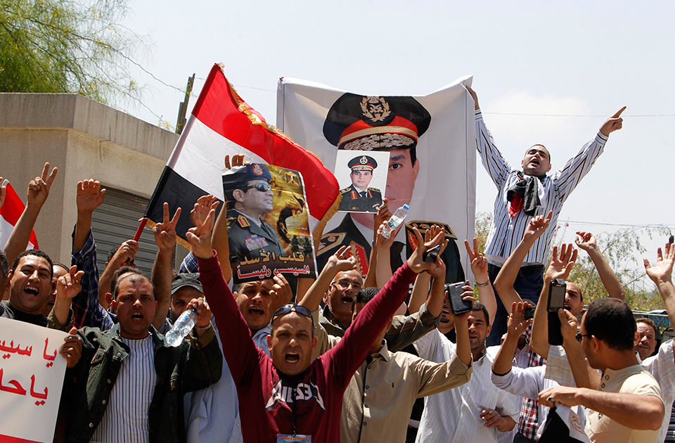 Egyptian expats in Lebanon show support for Sisi