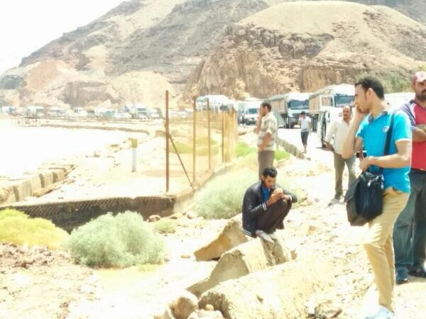 Traffic at Ain Sokhna Road