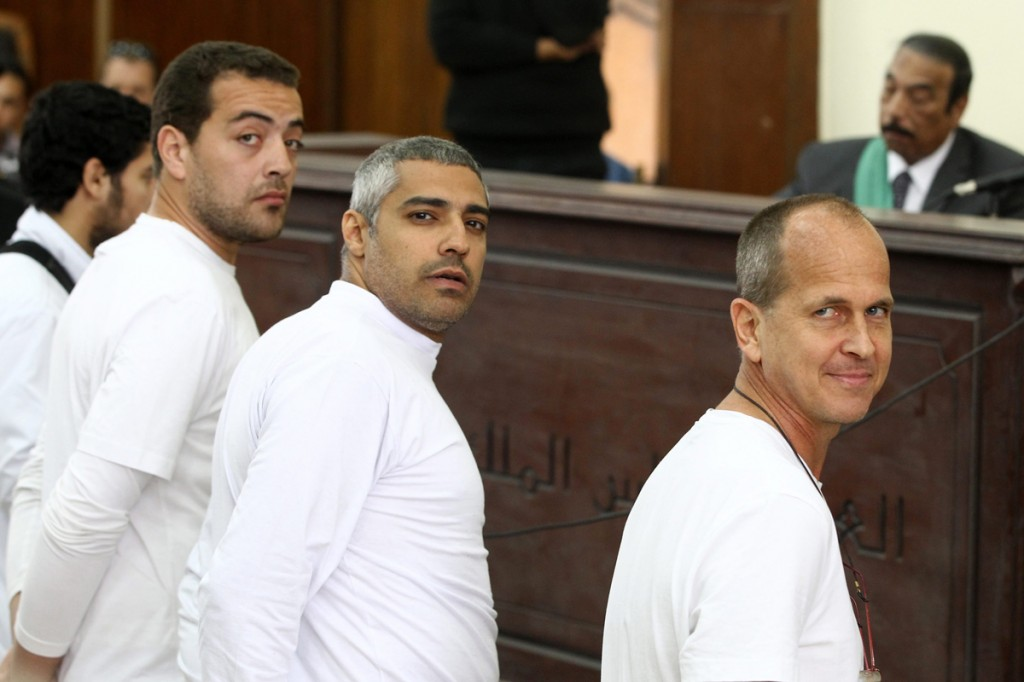 epaselect EGYPT JOURNALISTS TRIAL