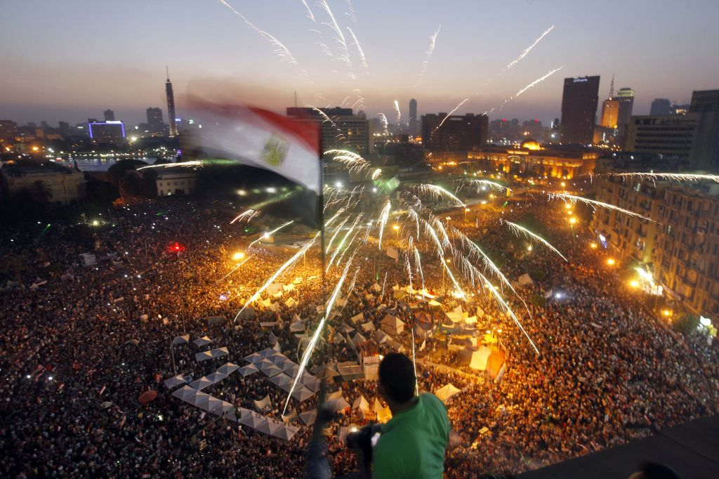 Protests on June 30 2013 that eventually led to Morsi`s ouster