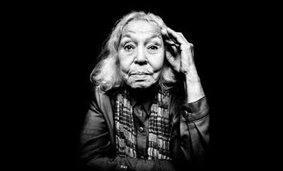 """The godmother of Egyptian Feminism"": Nawal El Saadawi. Credit: Kristina Budelis"