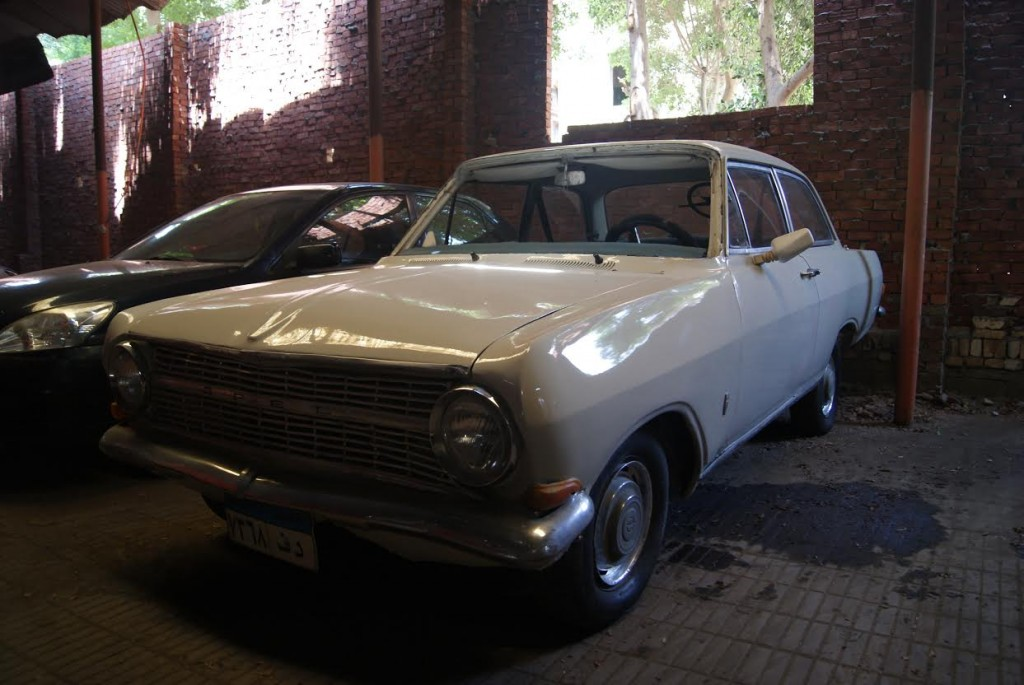 Eslam's Opel, inherited from his grandfather.