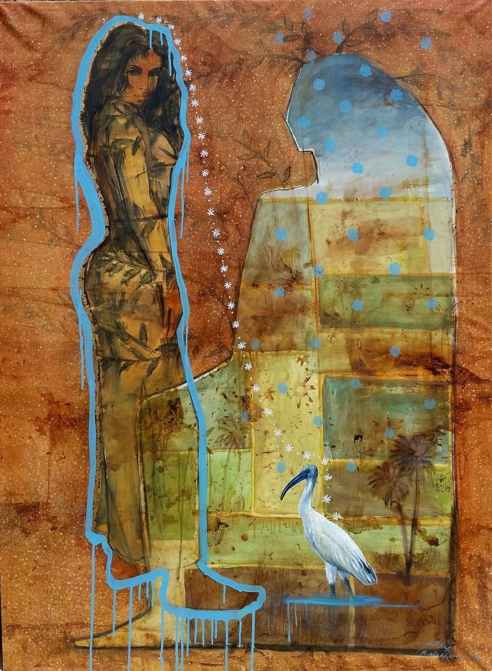 Contemporary Artist Revives Ancient Egyptian Art | Egyptian