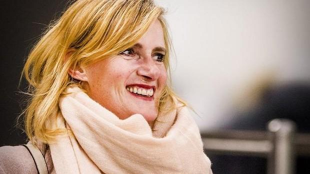Dutch journalist Rena Netjes. Photo: AFP