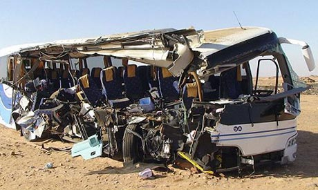 A bus crash that killed 8 American tourists in 2011.