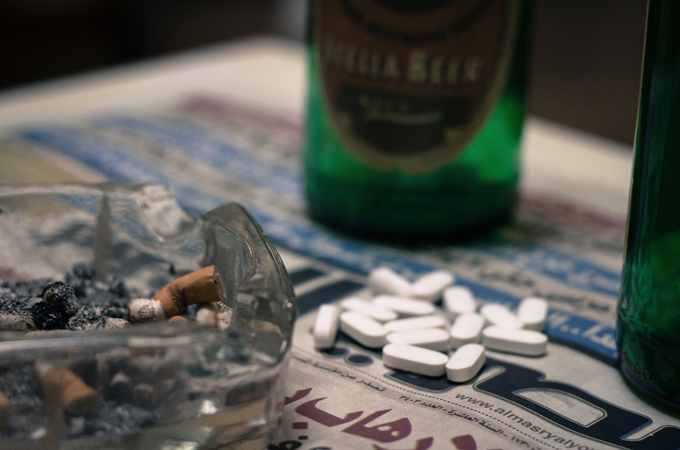 Pain killer addiction in Egypt is on the rise. Photo: Alessandro Accorsi