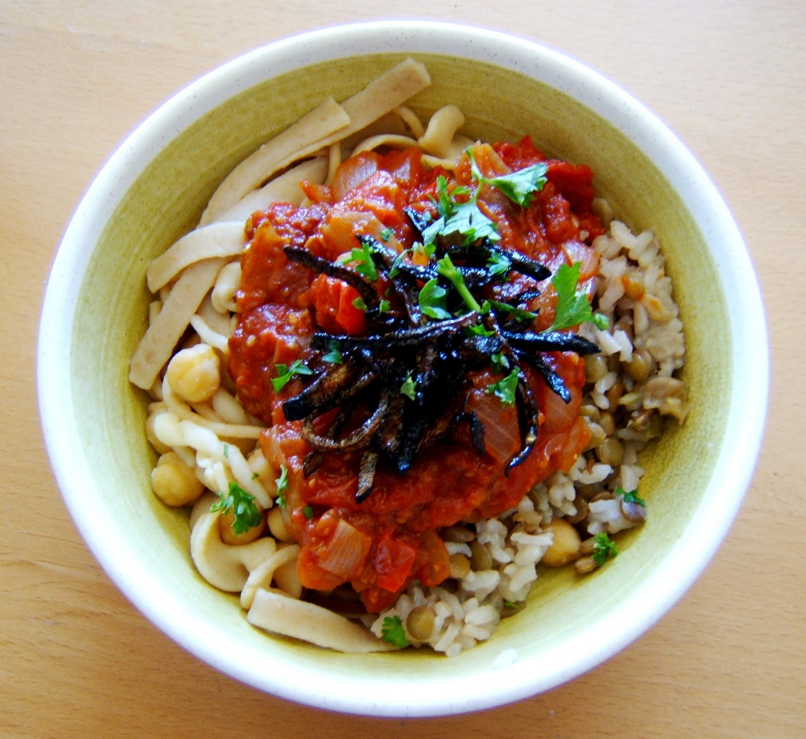 Kushari is regarded as the national dish of Egypt.