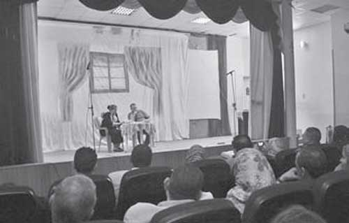 Abbasiyya Mental Health Theatre.