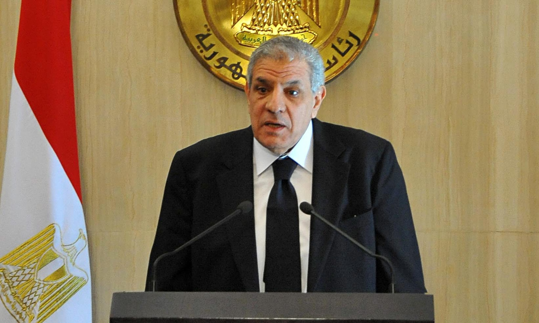 Prime Minister Ibrahim Mahlab was reappointed Monday morning as Egypt's Prime Minister.