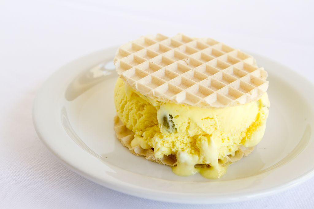 Bastani ice cream.