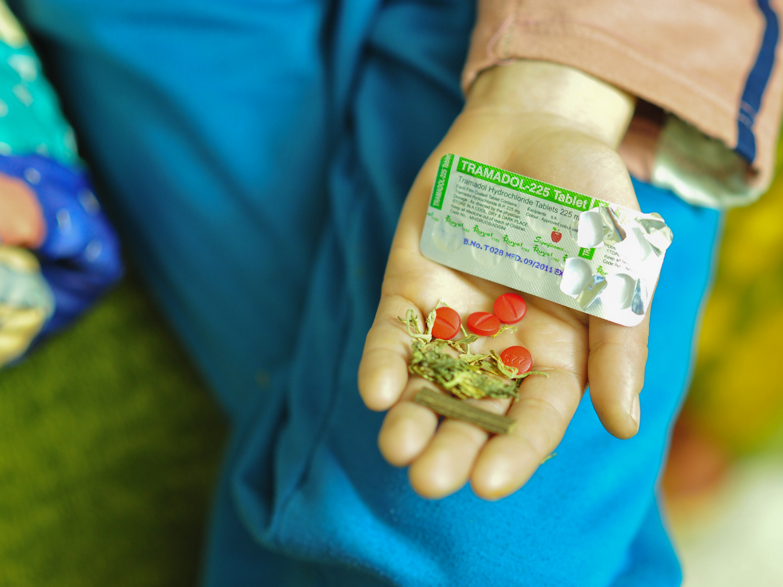 Tramadol and Cannabis substance.Photo: Gaël Favari