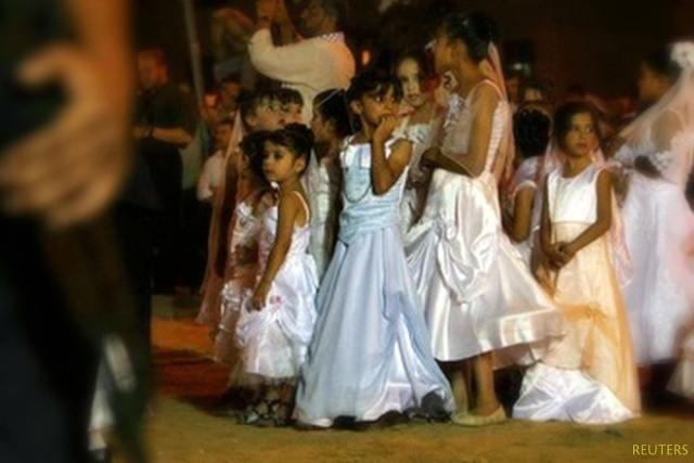 Girls in Egypt can be as young as 11 when they get married.