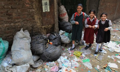 Poverty in Egypt continues to be on the rise with 26 percent of the population living under the poverty line. Photo: AFP File Photo