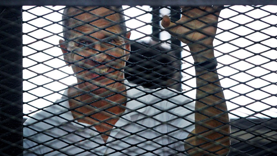 Peter Greste, an Australian Al-Jazeerah journalist , was sentenced to seven years to jail.