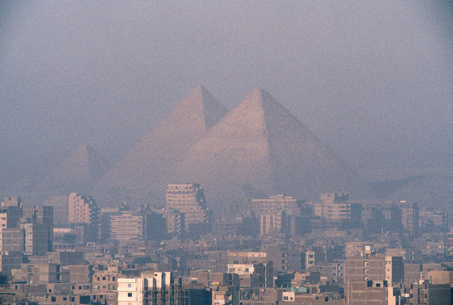 Cairo's Air is among the worst in the world.