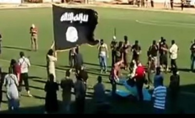 Still from the video of the public execution (via Amnesty International)