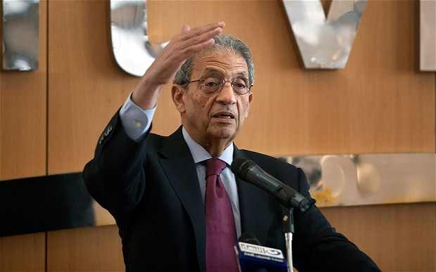 Amr Moussa, Former Secretary General of the Arab League. Photo: HOLLY PICKETT