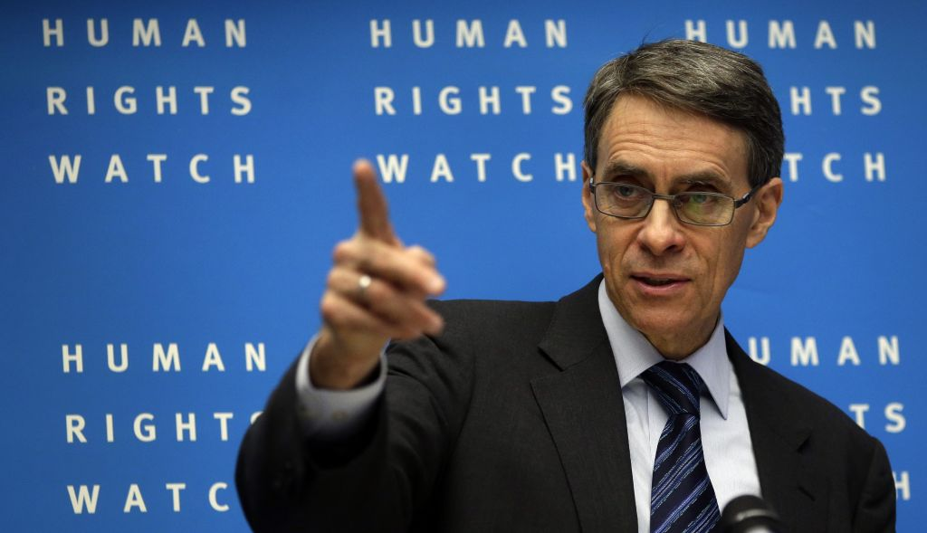 Human Rights Watch Executive Director, Kenneth Roth, was denied entry to Egypt.