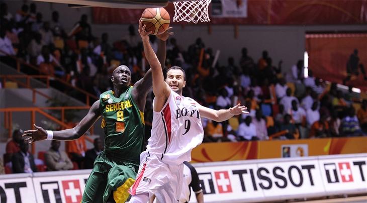 Ibrahim El-Gammal (EGY) - AfroBasket 2013