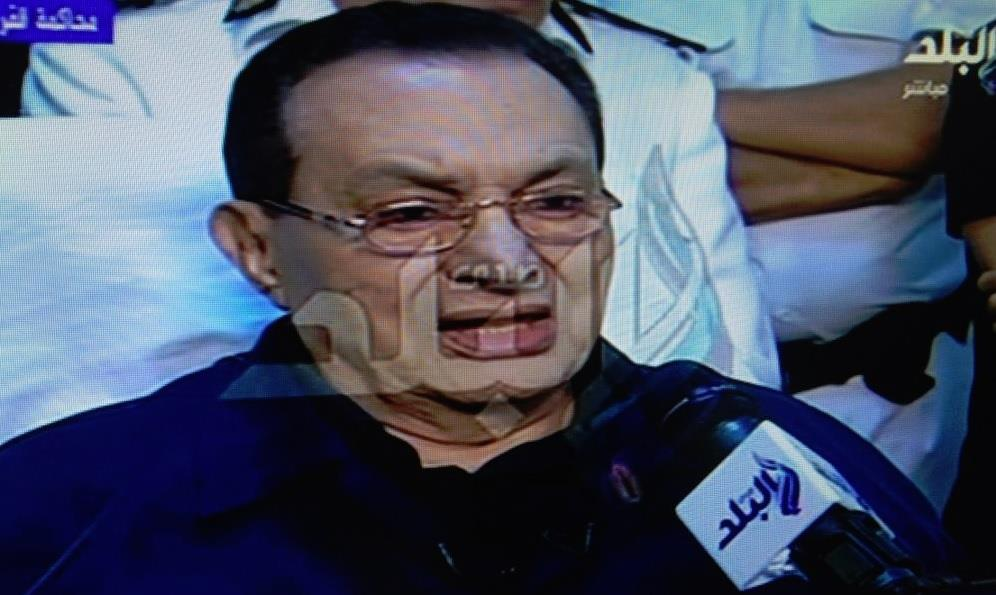 Hosni Mubarak told the court in August that he was not guilty.