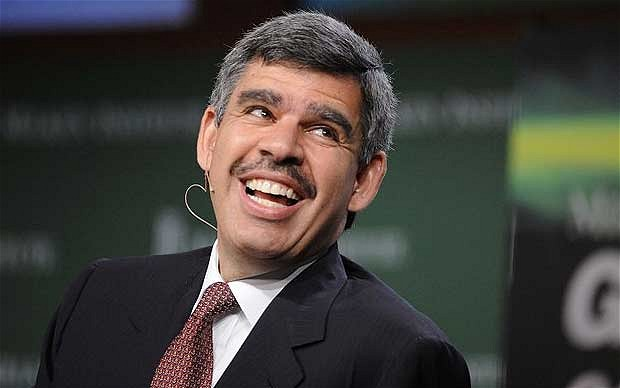 El-Erian is probably smiling a lot more often now.