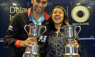 Egypt's El-Shorbagy and Malaysia's Nicol David