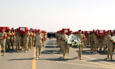 State funeral held for soldiers killed (25th October 2014)
