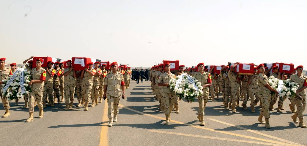State funeral held for soldiers killed on 25th October 2014