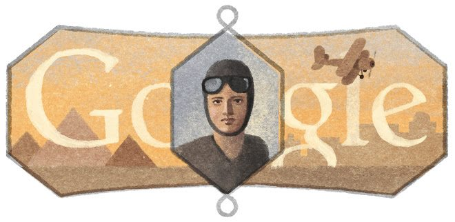 Google celebrated El Nadi on her 107th birthday