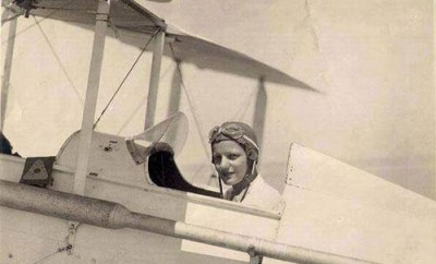 Lotfia El Nadi, Egypt's first female pilot.