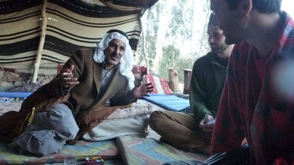 Sheikh Ahmed Abu Rashid of the Jebeleya tribe near St Katherine