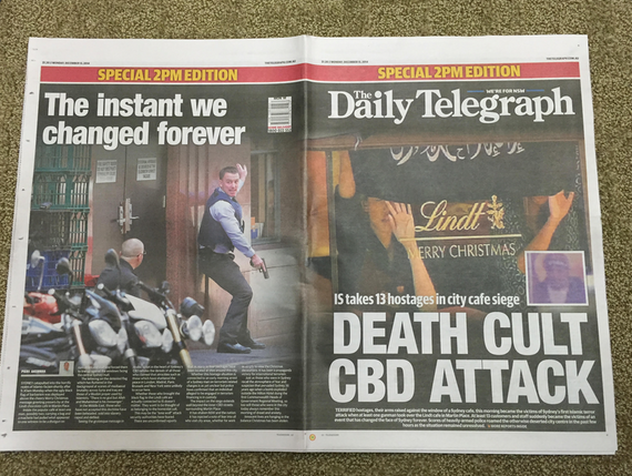 The Daily Telegraph has been criticized for this special edition. Via @nicchristensen from Twitter.