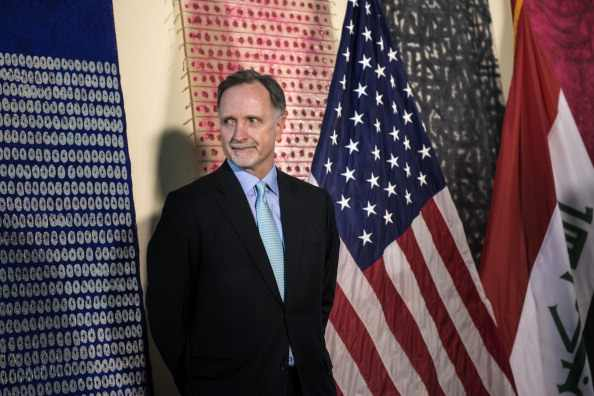 US Ambassador to Cairo, Robert Stephen Beecroft