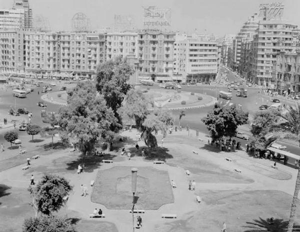 Place Tahrir 1950