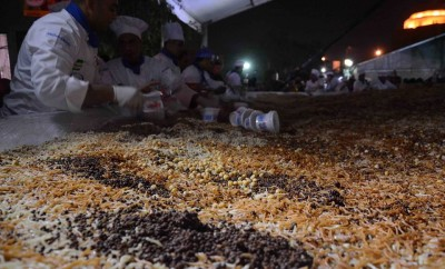 Egypt broke the Guinness World Record for the largest dish of Koshary ever!