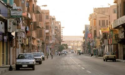A street in Luxor.